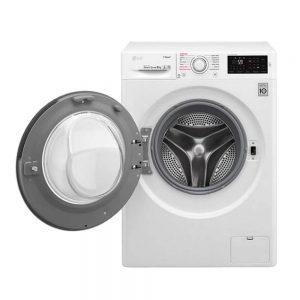 خرید ماشین لباسشویی 8 کیلویی ال جی مدل F4J6TNP8S LG Washing Machine 1400rpm با تخفیف عالی و ارسال رایگان در سراسر ایران - دارای نماد اعتماد