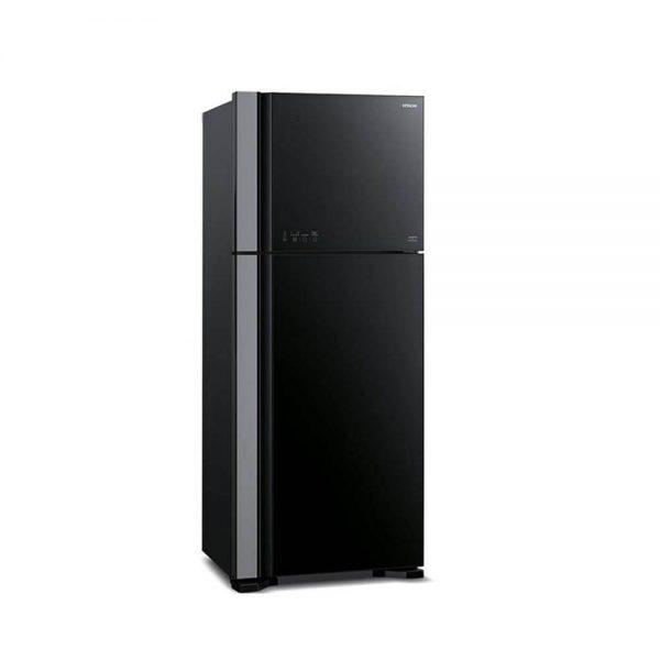 خرید یخچال فریزر  مشکی هیتاچی Hitachi Refrigerator R-VG660PUQ3 با تخفیف عالی و ارسال رایگان در سراسر ایران - دارای نماد اعتماد