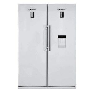 خرید یخچال فریزر دوقلو اسنوا مدل S5-S6 0180SW بدون پیش پرداخت و کاملاً قسطی